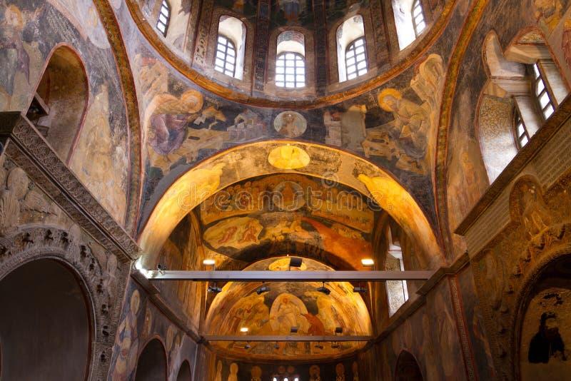Chora-Kirche in Istanbul stockbilder