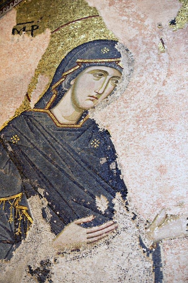 chora kościelna Istanbul Mary indyka dziewica zdjęcie royalty free