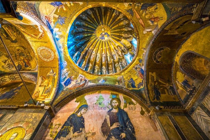Chora museum, Kariye Church Istanbul, Turkey. stock photos