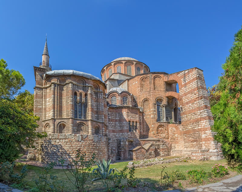 Chora-Museum - Kirche, Istanbul lizenzfreies stockbild