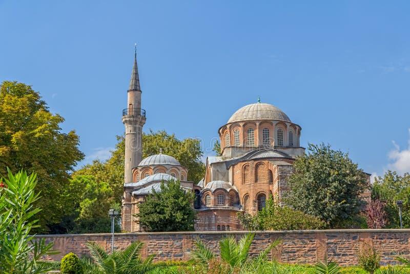 Chora-Museum - Kirche in Istanbul stockbilder
