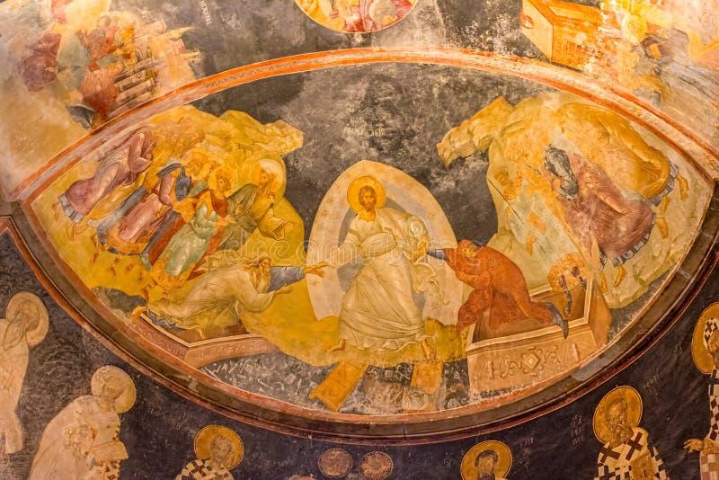 Chora-Museum - Kirche in Istanbul stockfoto