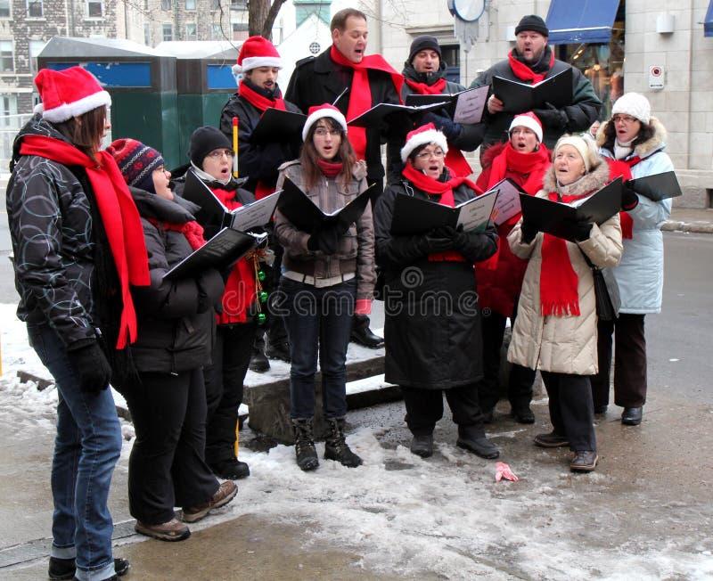 Choral de Noël photos libres de droits
