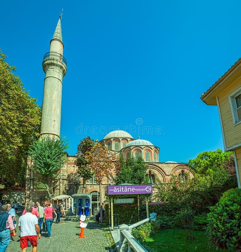 Choramuseum - Kerk, Istanboel royalty-vrije stock foto's