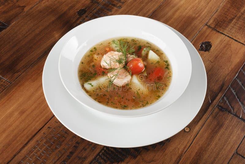 Chorba - παραδοσιακή Μεσο-Ανατολική σούπα στοκ εικόνες