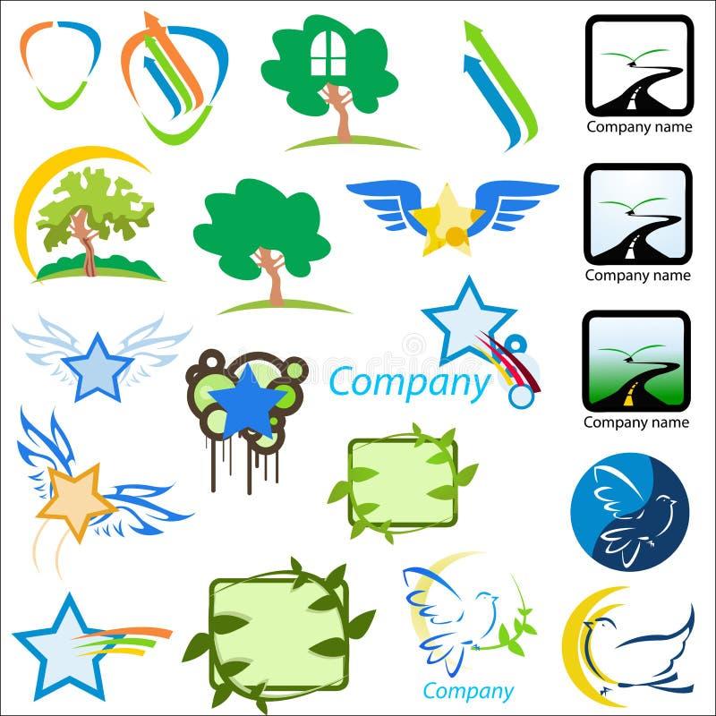 chorej logo charakteru wektor ste ilustracja wektor
