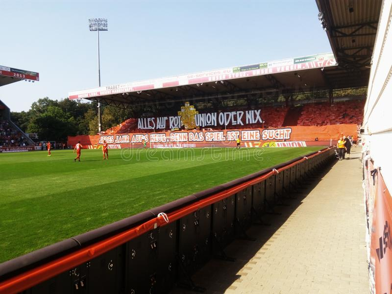 Choreo from Union Berlin stock images