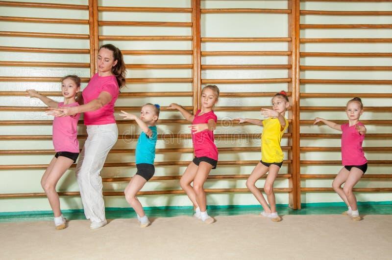 Choreografie stockfotos