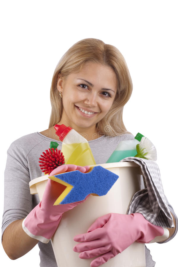 Chores around the house royalty free stock photo