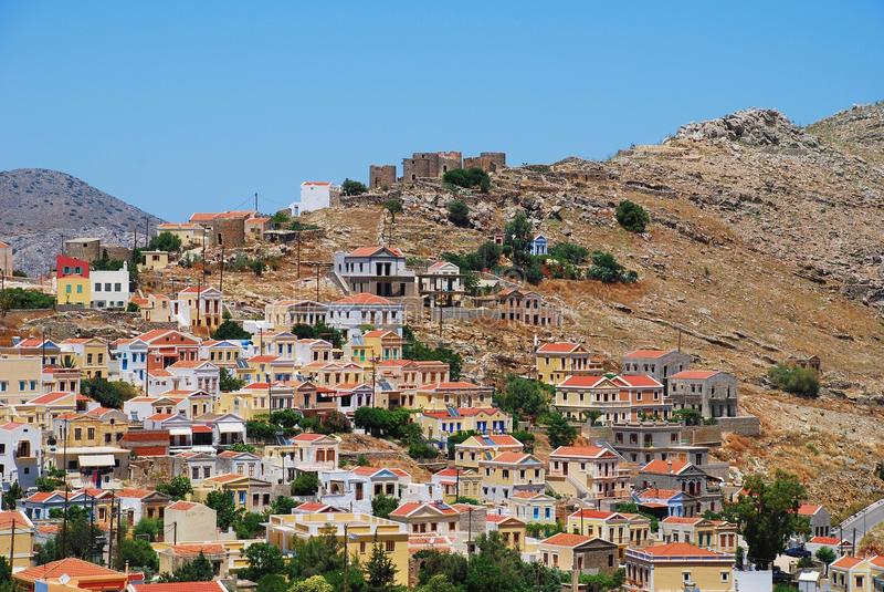 Download Chorio Village, Symi Island Stock Image - Image: 22364609