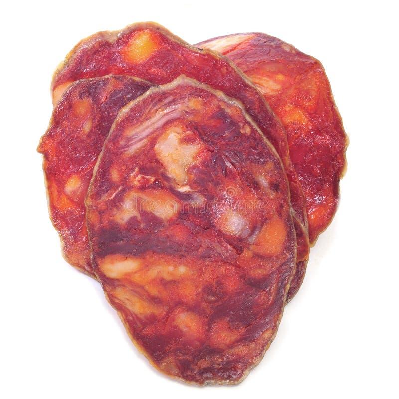 Chorizo hart stock foto's