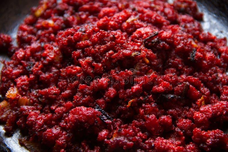Chorizo rosso messicano immagine stock libera da diritti