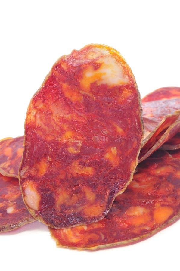 Chorizo spagnolo immagine stock libera da diritti
