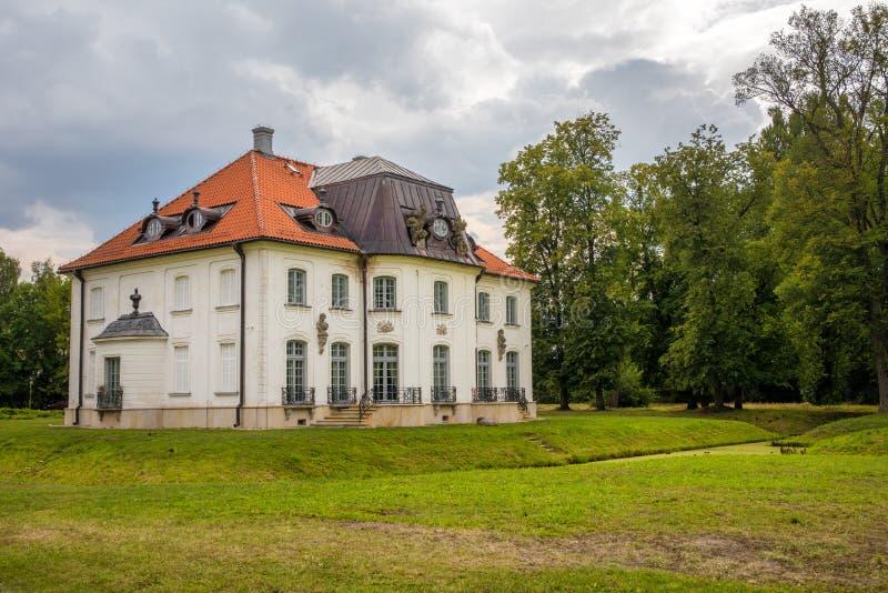 Branicki family`s summer palace in Choroszcz near Białystok. CHOROSZCZ, POLAND - AUGUST 06, 2019: Branicki family`s summer palace in Choroszcz near BiaÅ' royalty free stock image