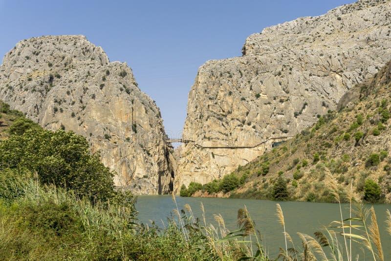 chorro el Провинция Малаги Испания стоковое фото rf