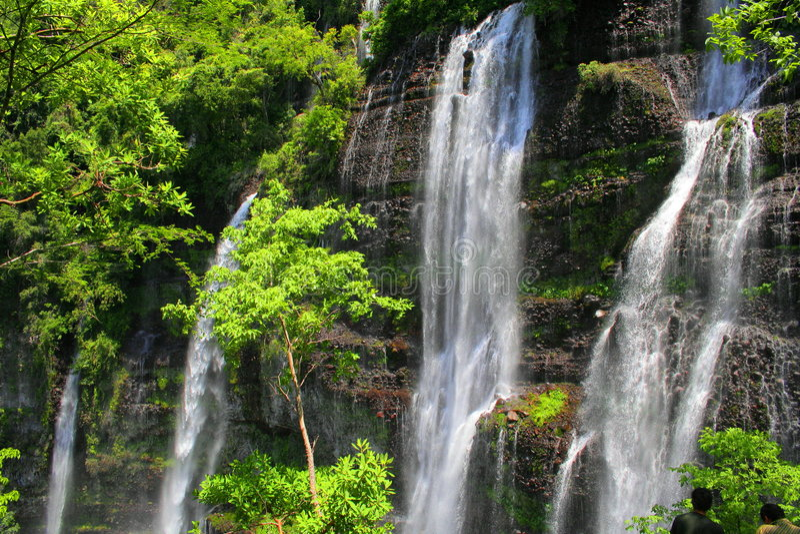 Chorros del varal Wasserfälle lizenzfreie stockfotos