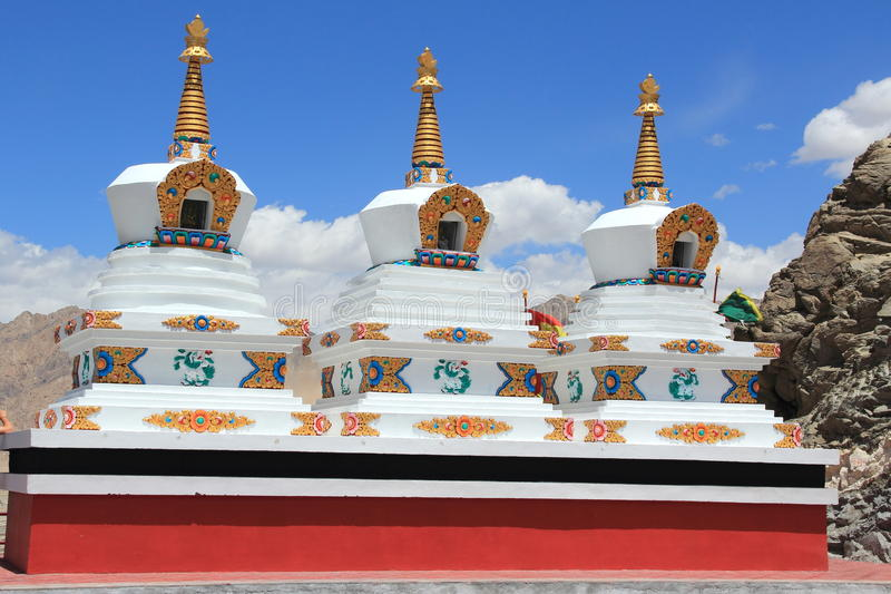 Chorten, Himalayas, Ladakh. stock photo