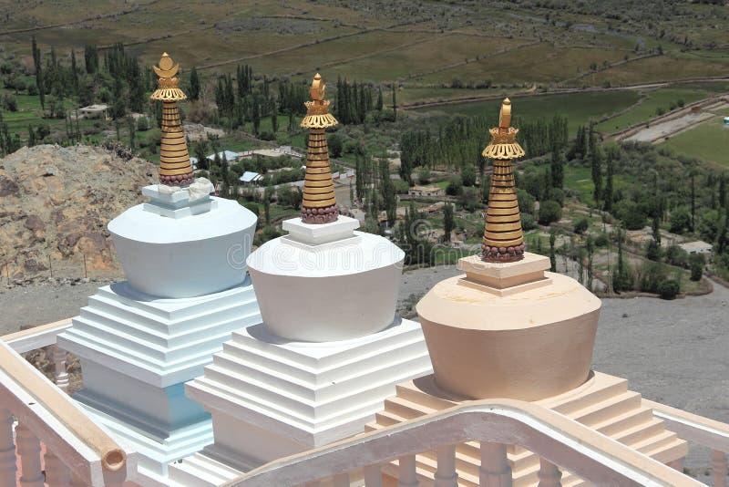 Chorten, Himalayas, Ladakh, India. royalty free stock photos