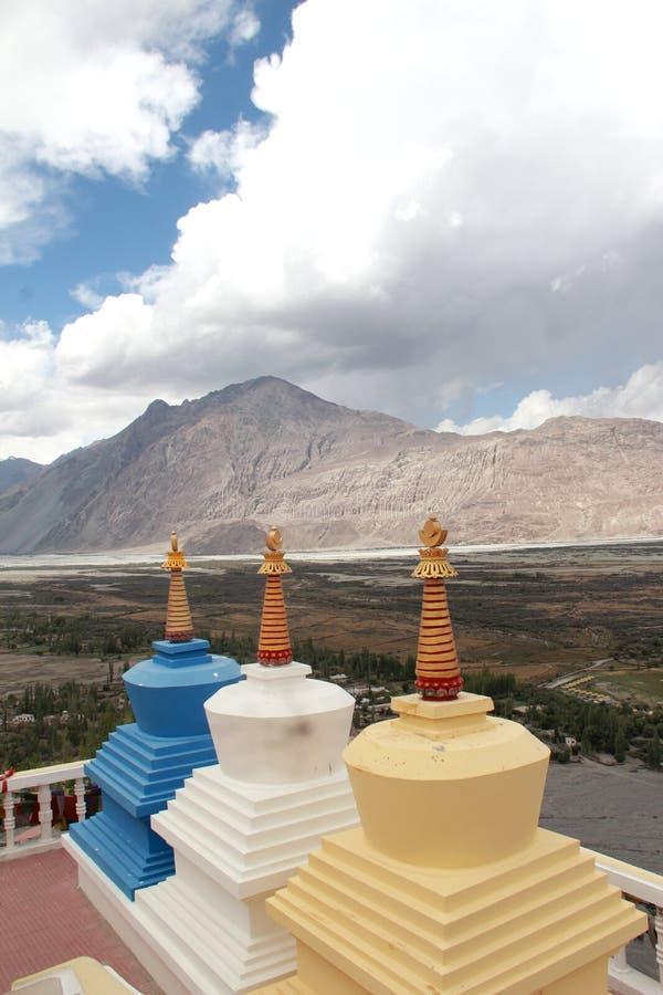 Chorten, Himalayas, Ladakh, India. stock photos