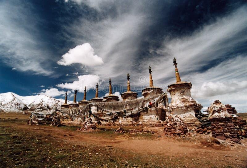 Chorten tibétain photo libre de droits