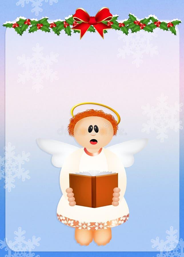 Chorus angel. Cute illustration of Chorus angel vector illustration