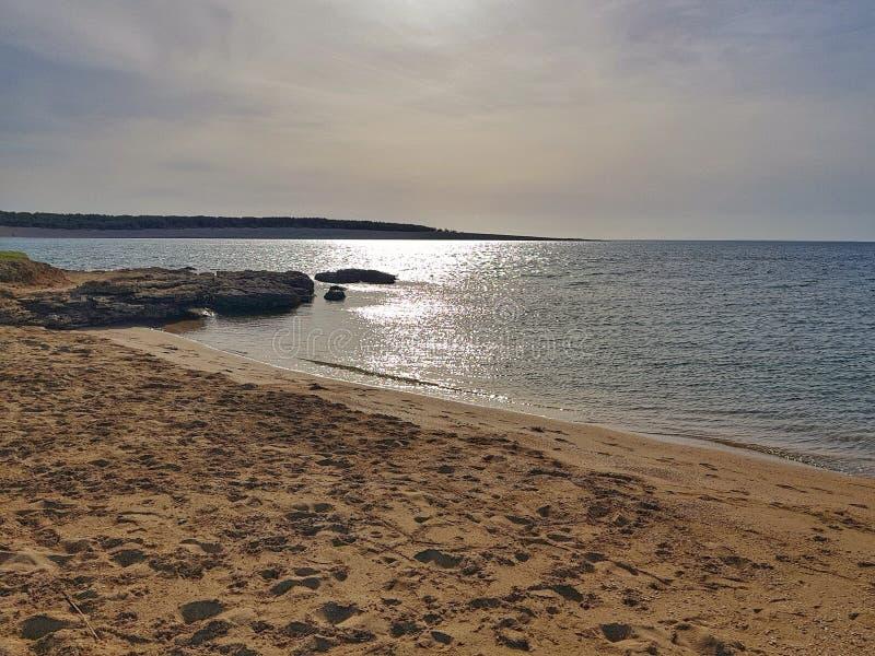 Chorwacja wyspy pag plaży piaski obraz stock