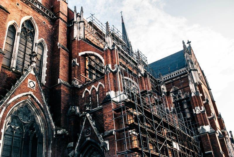 Chorwacka katedra, Osijek zdjęcie royalty free