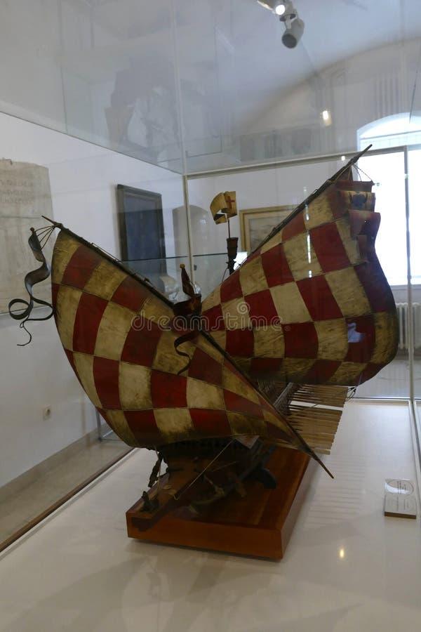 Chorwacki galery St Jerolim, bra? udzia? w bitwie Lepanto zdjęcia royalty free