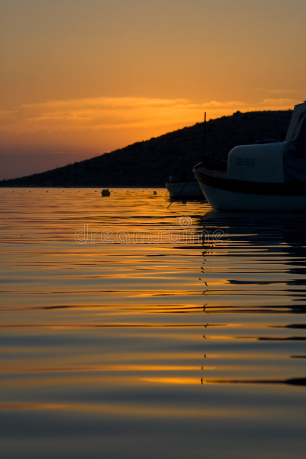 chorwacki słońca obraz royalty free