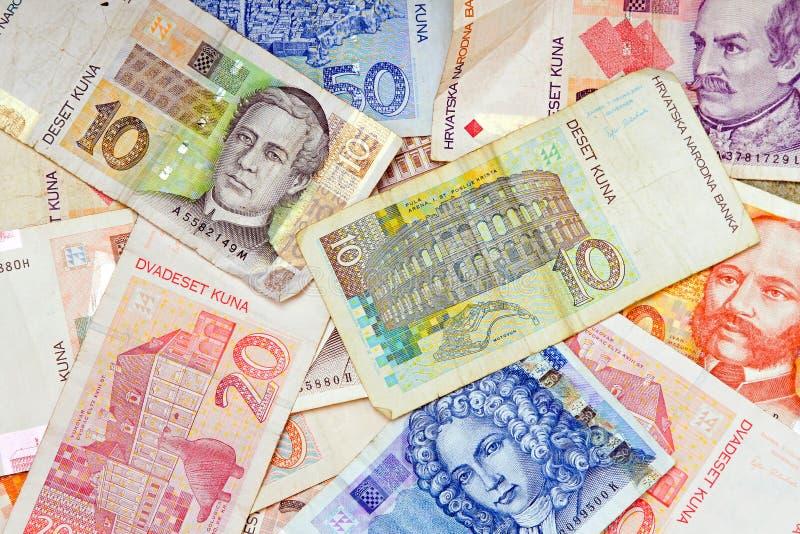 chorwacki waluta zdjęcie stock