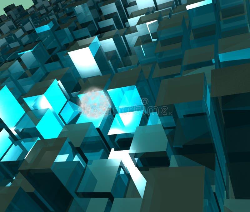 Chose et cubes photos libres de droits