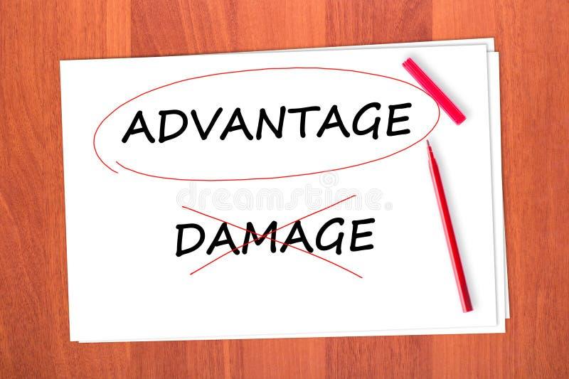 Download Chose the word ADVANTAGE stock image. Image of advantage - 23094851