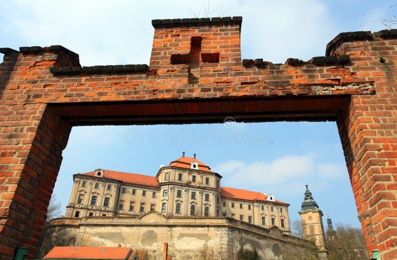 Chotesov monastery stock images