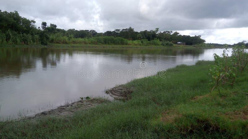 Choto Feni rzeka zdjęcie stock