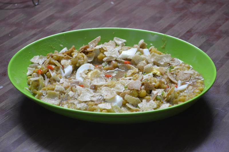 Chotpoti στο Μπανγκλαντές, τρόφιμα dhaka στοκ φωτογραφίες με δικαίωμα ελεύθερης χρήσης