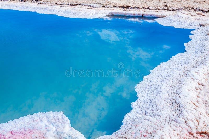 Chott el Djerid, salt lake in Tunisia.  royalty free stock photo