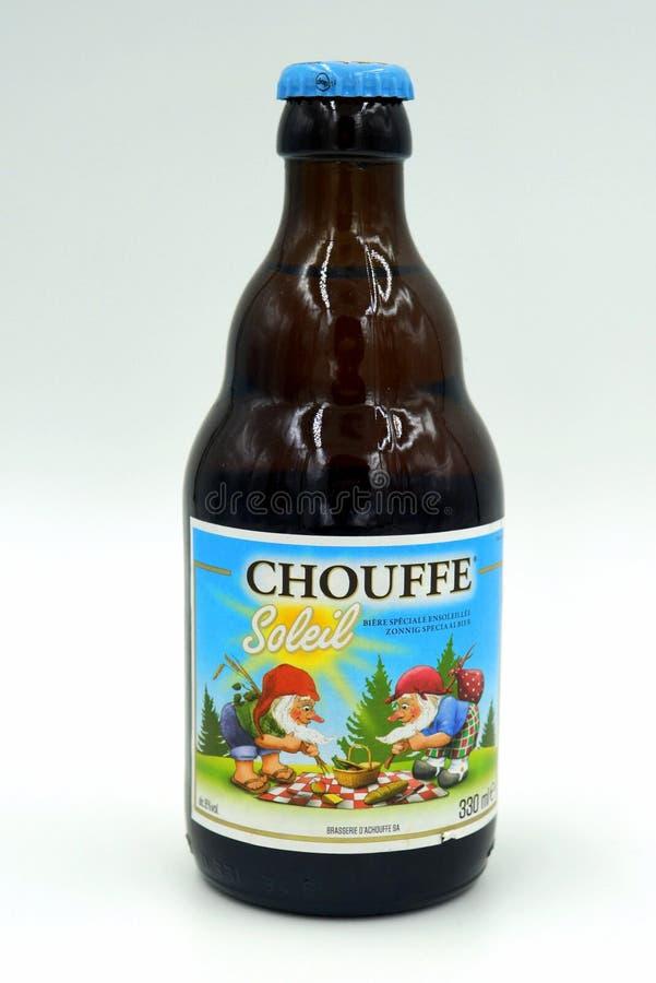 Chouffe Soleil fotografía de archivo