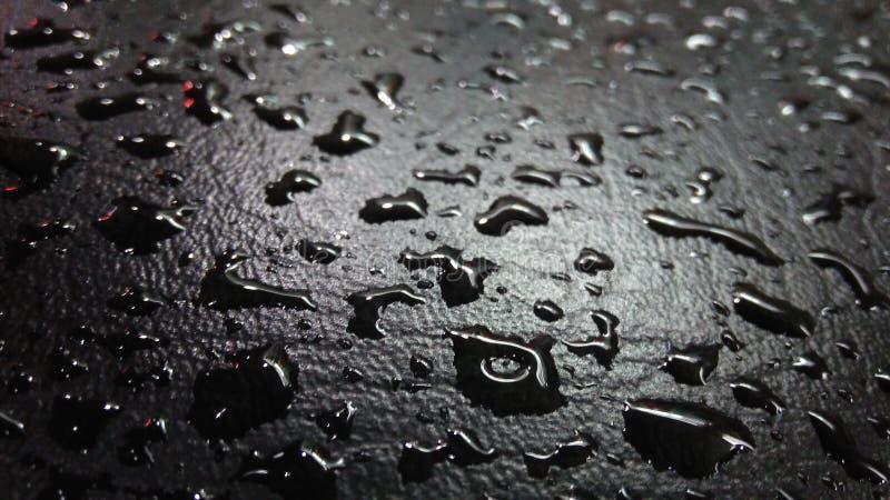 Chova gotas fotografia de stock