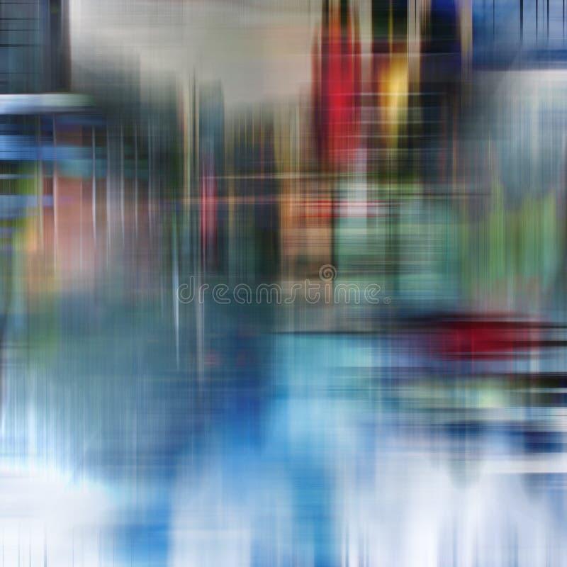 Chovendo o teste padrão abstrato do fundo da rua imagem de stock