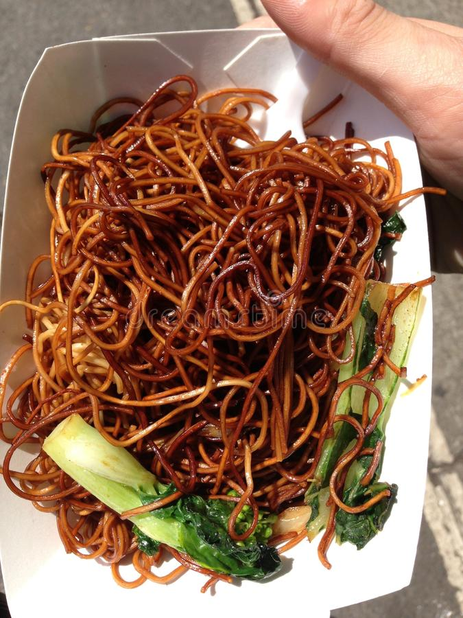 Chow Mein royalty free stock image