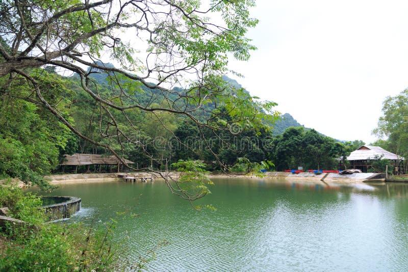 Chowany jezioro w parku narodowym zdjęcie royalty free