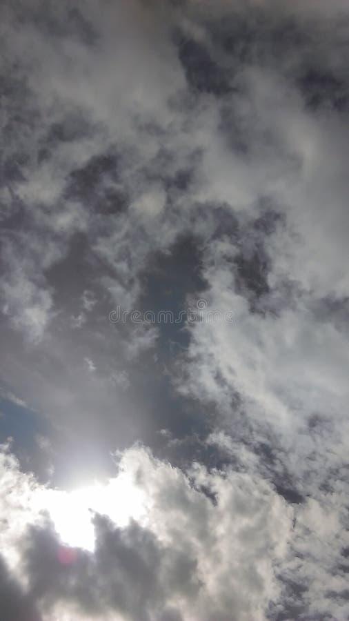 Chowany słońce obraz stock