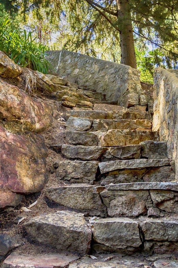 Chowany schody zdjęcie stock