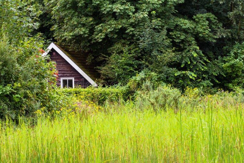 Chowany wakacje dom zdjęcie royalty free