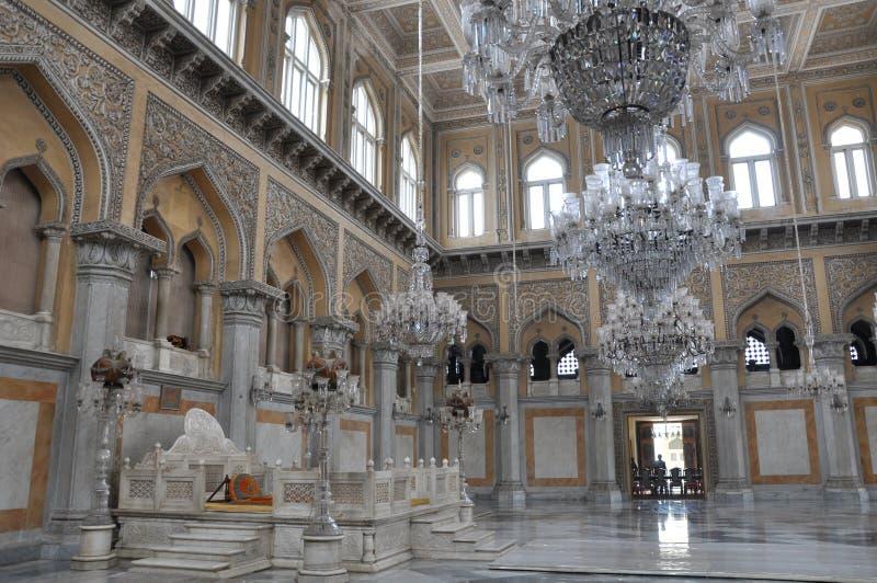 Chowmahalla Palast in Hyderabad, Indien stockfotografie