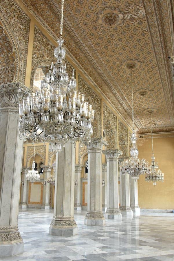 Chowmahalla slott, Hyderabad, Indien royaltyfria bilder