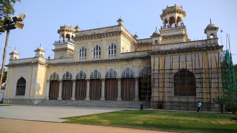 Chowmahalla slott slotten av Nizamsen av Hyderabad arkivbild