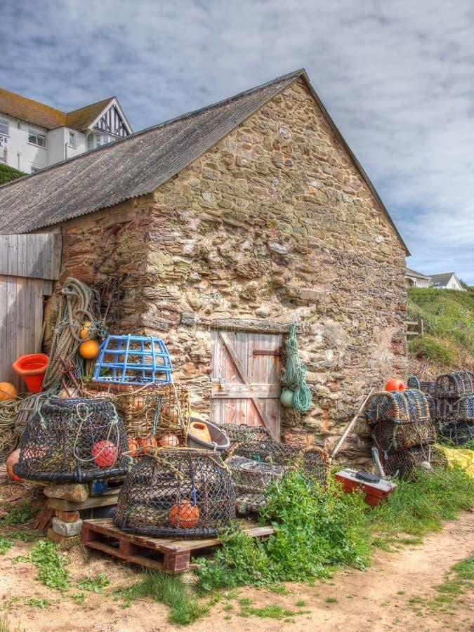 Choza de Fishermans fotos de archivo libres de regalías