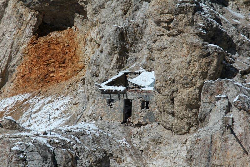 Choza de la montaña imágenes de archivo libres de regalías