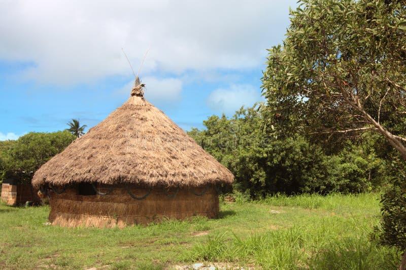 Choza, Nueva Caledonia imágenes de archivo libres de regalías